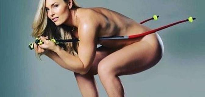 """Lindsey Vonn nuda: """"Ci ho messo 31 anni per non sentirmi a disagio senza veli"""""""